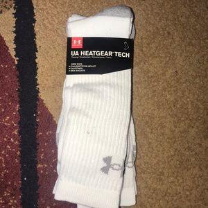 Men's UA Under Armour crew socks 3 pairs XL NIP